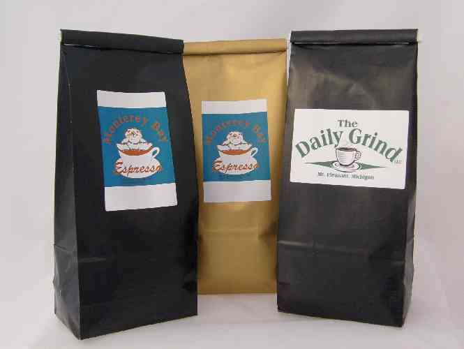 gourmet coffee beans espresso beans organic coffee With custom coffee bag labels